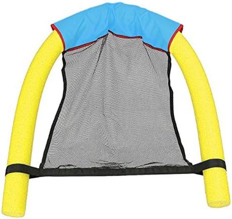 フローティングチェア スイミングプールシート フローティングベッドチェア 浮力チェア スイミングリングアクセサリー 3色 MKchung