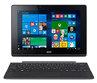 "2017 Newest Acer Aspire Switch 10.1"" 2-in-1 Premium Laptop Tablet, Touchscreen IPS LED Display (1280 x 800), Quad Core Intel Atom Z3735F Processor, 32 GB SSD, 2GB RAM, HDMI, Bluetooth, Windows 10"