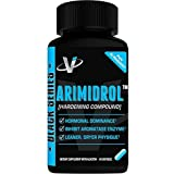 VMI Sports Arimidrol, Best Selling Testosterone Booster Strongest Anti-Estrogen & Powerful Aromatase Inhibitor Supplement 60ct with Acacetin & Astragalus Very Similar to Arimistane Estrogen Blocker