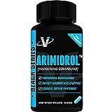 VMI Sports Arimidrol Best Selling Testosterone Booster, Strongest Anti-Estrogen & Powerful Aromatase Inhibitor Supplement 60ct with Acacetin & Astragalus Estrogen Blocker