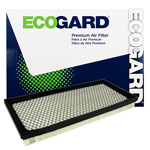 - ECOGARD XA5089 Premium Engine Air Filter Fits 1997-2006 Jeep TJ, Wrangler