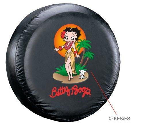 (Plasticolor Betty Boop Aloha Tire Cover)
