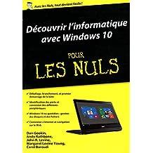 Découvrir l'informatique avec Windows 10 pour les Nuls