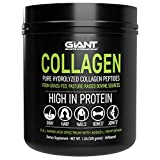 Collagen Peptide Powder - Hydrolyzed Complete All Essential Amino Acids, Grass Fed Pasture Raised Type 1 Type 3-1 LB
