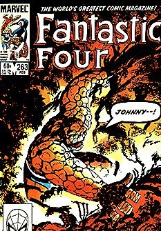 Fantastic Four #263 R and R