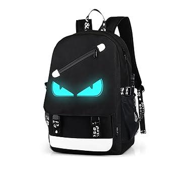 Mochila escolar, mochilas antideslizantes resistentes al agua para portátiles de viaje para hombres Mujeres con puerto USB de carga Mochilas escolares para ...