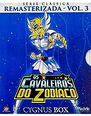 Os Cavaleiros Do Zodiaco Serie Classica Remasterizada Volume 3 Cygnus Box - 3 Discos - 25 Episodios [Blu-ray]