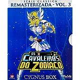 Os Cavaleiros Do Zodiaco Serie Classica Remasterizada Volume 3 Cygnus Box - 3 Discos - 25 Episodios