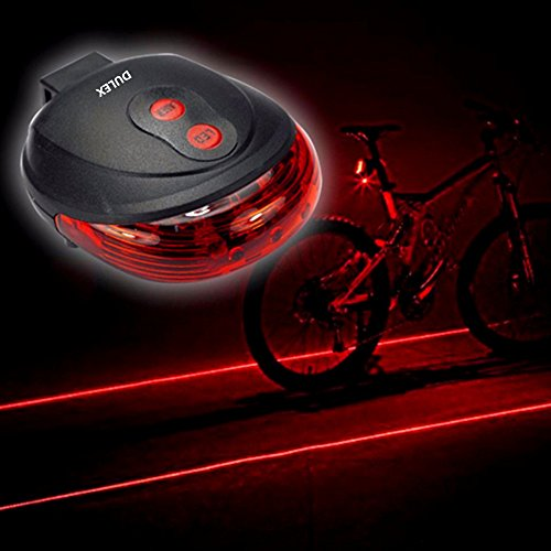 SanWay Waterproof Bicycle Light Caution