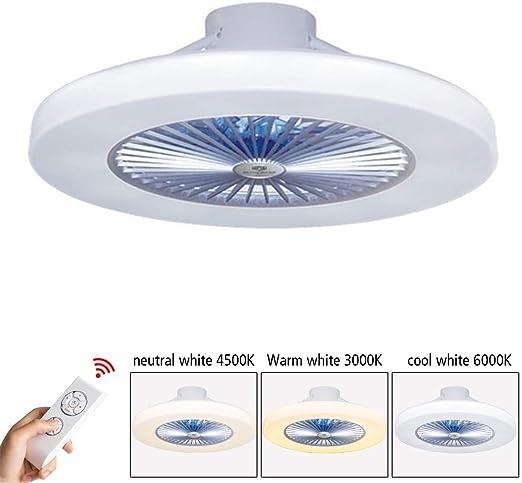 Luz del ventilador de techo, moderna LED Ventilador de techo, LED ...