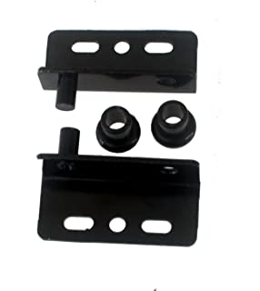 Black Simplex Concealed Hinges, pair: Cabinet And Furniture Hinges