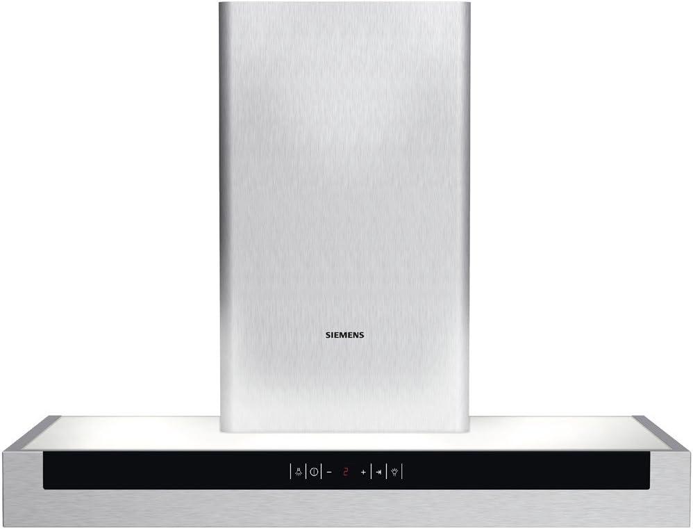 Siemens LC8L950 - Campana (Canalizado/Recirculación, 400 m³/h, 54 Db, Montado en pared, Acero inoxidable, Sensor): Amazon.es: Hogar