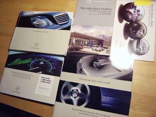 2005 Mercedes C Class Sedan C-Class Owners Manual (Sedan Kompressor C230)