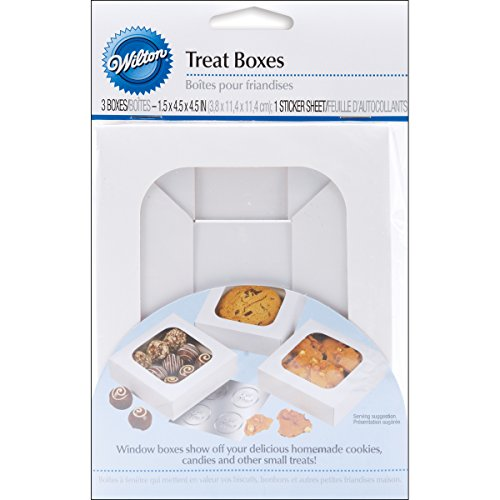 Wilton Treat Boxes, Set of 3 (Iii Treat Box)