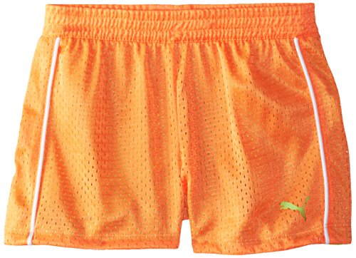 PUMA Girls' Active Double Mesh Short