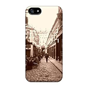 New Snap-on Dana Lindsey Mendez Skin Case Cover Compatible With Iphone 5/5s- Lovely Paris Street
