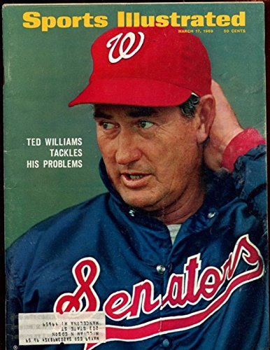 March 17 1969 Sports Illustrated Magazine With Ted Williams Cover ()