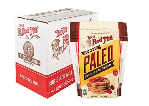 Bob's Red Mill Resealable Gluten Free Paleo Pancake & Waffle Mix, 13 Oz (4 ()