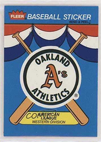 Oakland Athletics (Baseball Card) 1989 Fleer - Team Stickers Inserts #OAK