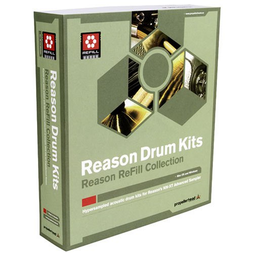 Propellerhead Reason Drum Kits - Propellerhead Reason Drum Kits ReFill ( Windows/Macintosh )