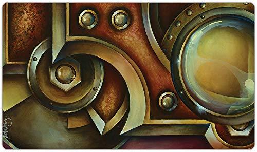 Inked Playmats Access デニッドプレイマット インク入り ゲーム MTG ポケモン ハースストーン&遊戯王マジック ザ・ギャザリング TCG ゲームマット 抽象アート