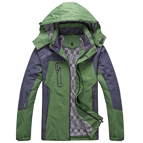 Warm JACKETS Ski M Outdoor Large Green Coat Thickened Jacket FYM Women DYF Climb Size Men HAvwxFRq