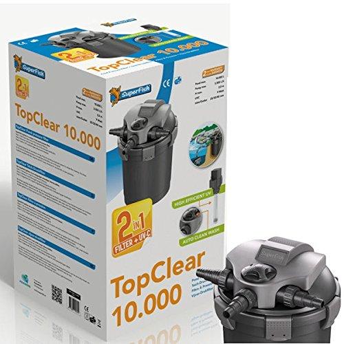 SF Druckfilter Top Clear 10000 mit UVC