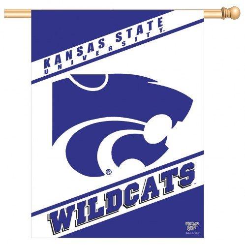 NCAA Kansas State Wildcats 27'' x 37'' Vertical Banner Flag