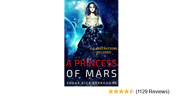 Amazon A Princess Of Mars 15 Illustrations Included