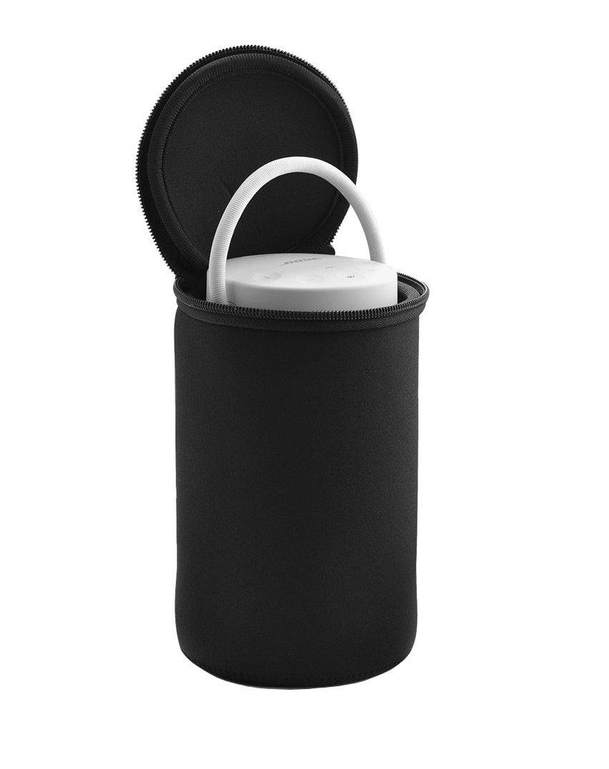LuckyNV Pouch Housse de Sac Souple Shadowproof Outdoor Climbing Housse de Protection pour Bose SoundLink Revolve Plus Bluetooth Speaker Black