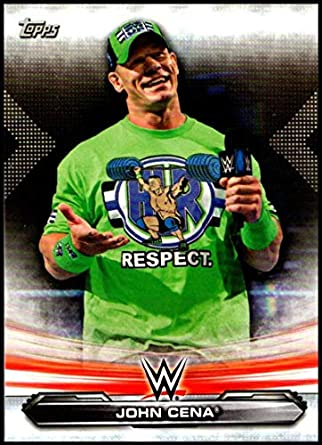 Amazoncom 2019 Wwe Topps Monday Night Raw 37 John Cena