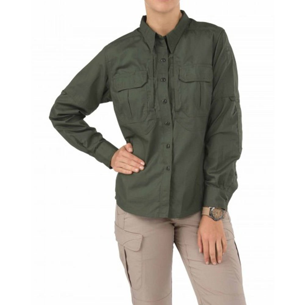 Chest Pocket Style 62070 5.11 Tactical Women/'s Taclite PRO Long Sleeve Shirt Teflon Finish