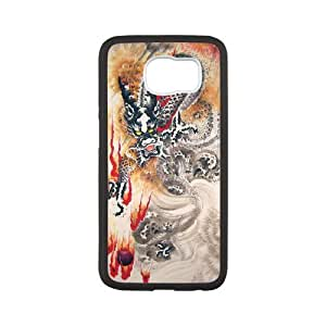 Chinese Dragon Samsung Galaxy S6 Case, Sexyass - White