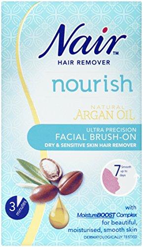 Nair Brush Facial Hair Remover