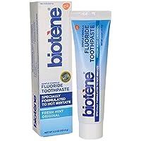 Biotene Gentle Formula Fluoride pasta de dientes, menta fresca 4.3 oz (paquete de 1)