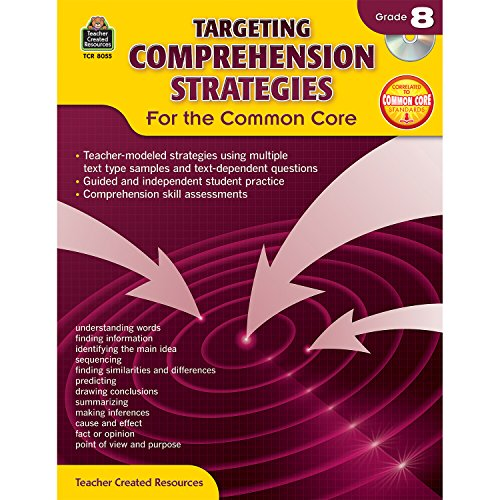 Targeting Comprehension Strategies for the Common Core Grd 8