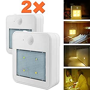 Motion Sensor Closet Lights Wall Night Light Eonfine
