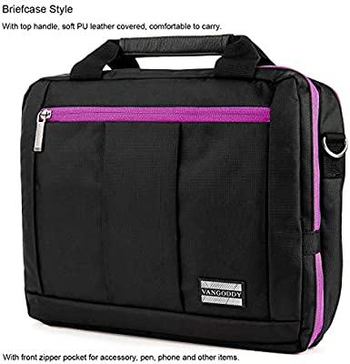 Amazon.com: ECCRIS 13.3 to 14 Inch Laptop Backpack Briefcase ...
