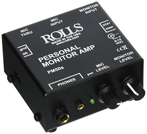(Rolls PM50s Personal Monitor Amplifier)