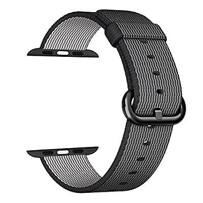 Apple Watch Series 2 Series 1 Woven Nylon band £¬Aokay Fine Woven Comfortable Durable Nylon Bracelet Strap Replacement Wrist Band for iWatch