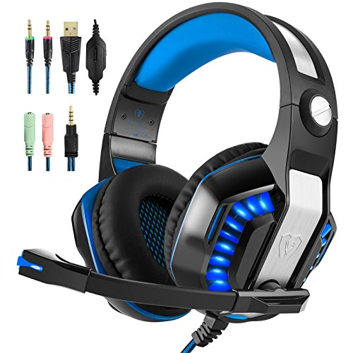 (Hotyet Over Ear Gaming Headset with Mic (GM-2))