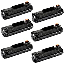 Shopcartridges® 6 Packs Canon 137 (9435B001) New Compatible Black Toner Cartridge for Canon ImageClass MF212w MF216n MF227dw MF229dw