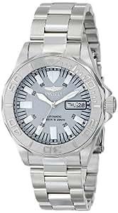 Invicta 7048 reloj automático de buceo Signature con carátula plateada para hombres