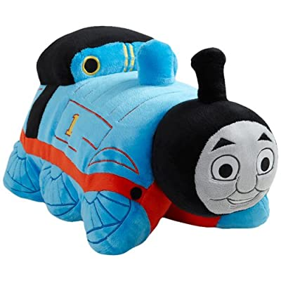 """My Pillow Pets Thomas The Tank Engine - Blue/Red 18"""" (Licensed): Toys & Games"""