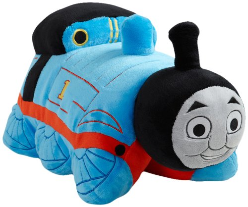 My Pillow Pets Thomas The Tank Engine - Blue/Red 18'' (Licensed) by Pillow Pets
