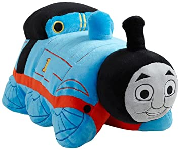 5206e1d8abc My Pillow Pets Thomas The Tank Engine - Blue Red (Licensed)  Amazon ...