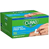 Curad Alcohol Prep Pads 200 Ea (Pack Of 6)