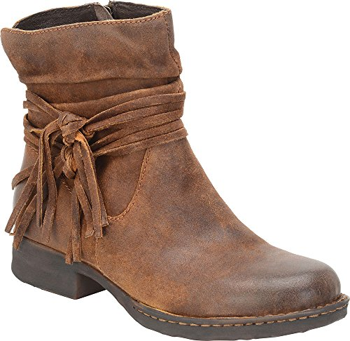 Born Women's Cross Shoes, Tobacco Distressed - 6.5 B(M) US ()