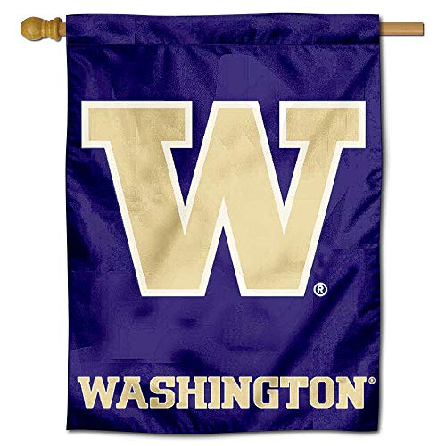 College Flags and Banners Co. University of Washington Huskies House Flag ()