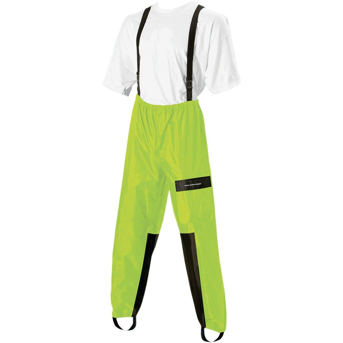Nelson-Rigg Aston AS-250 Unisex Rain Pants (Yellow, XX-Large) (High Visibility) Nelson Rigg AS250HVYL05-XX